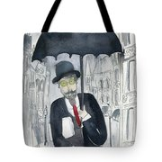 Satie Walking In The Rain Tote Bag