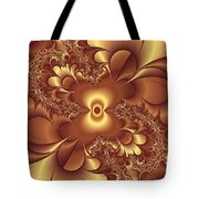 Satin And Lace Tote Bag