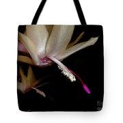 Satin Petals Tote Bag