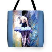 Satin Shoes Tote Bag