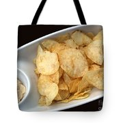 Satisfy The Craving With Chips And Dip Tote Bag