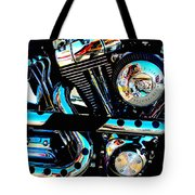 Saturated Chrome Tote Bag
