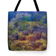 Saturated Forest Tote Bag