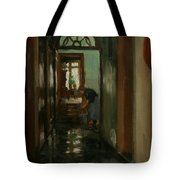 Saturday  An Interior View Of Garstin's Home  Tote Bag