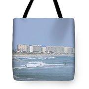 Saturday At The Beach Tote Bag