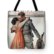 Saturday Evening Post Tote Bag