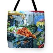 Saturday Market Tote Bag
