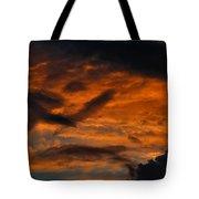Saturday Sunset Tote Bag