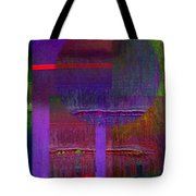Saturn Abstract Tote Bag
