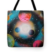 Saturn Galaxy Tote Bag