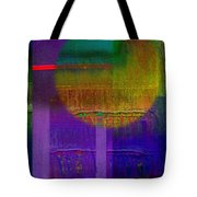 Saturn Lavender Tote Bag