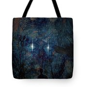 Saturnine Night Tote Bag