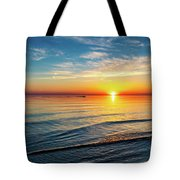 Sauble Beach Sunset 4 Tote Bag