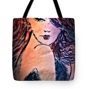 Saucy Lady Tote Bag