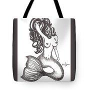 Saucy Mermaid Tote Bag