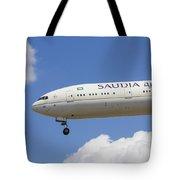 Saudi Arabian Airlines Boeing 777 Tote Bag