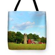Sauer Farm, Mt. Marion Tote Bag