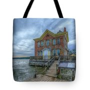 Saugerties Ligththouse Tote Bag
