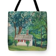 Sauna At Murray Hollow Tote Bag