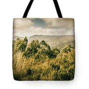 Savage River Lookout, Tarkine, Tasmania Tote Bag