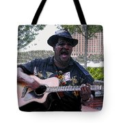 Savanna Blues Man Tote Bag