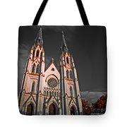 Savanna Georia Church Color Infrared 74 Tote Bag