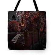 Savanna Georia Colonial Park Cemetery Color Infrared 500 Tote Bag