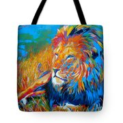 Savanna King Tote Bag