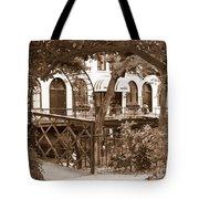 Savannah Arches In Sepia Tote Bag