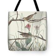 Savannah Finch Tote Bag