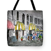 Savannah Georgia River Street 2 Painting Art Tote Bag