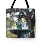 Savannah Green Tote Bag