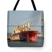 Savannah River Scenic Tote Bag