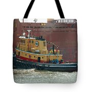 Savannah River Tug Tote Bag