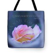 Savannah Rose 3 Tote Bag