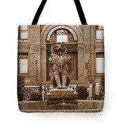 Savannah Sepia - Cotton Exchange Building Tote Bag