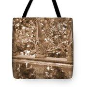 Savannah Sepia - Finials Tote Bag