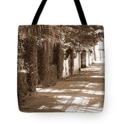 Savannah Sepia - Sunny Sidewalk Tote Bag