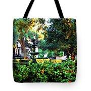 Savannah Square Tote Bag