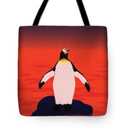 Save Penguin Tote Bag