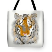 Save The Tiger Tote Bag
