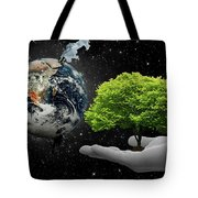 Save Tree Tote Bag