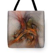 Saving Omega - Fractal Art Tote Bag