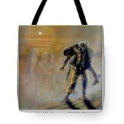 Savior In A Storm Tote Bag