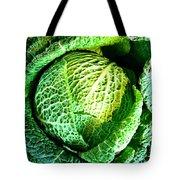 Savoy Cabbage Tote Bag