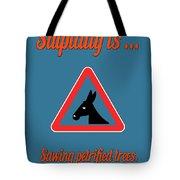 Sawing Bigstock Donkey 171252860 Tote Bag