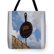 Saws Bbq And Soul Food Tote Bag