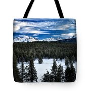 Sawtooth Winter Tote Bag