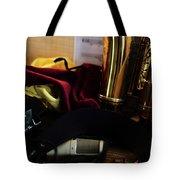 Sax In Repose Tote Bag