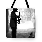 Sax Man Tote Bag